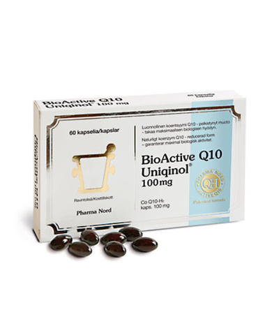 BIOACTIVE Q10 UNIQINOL 100MG