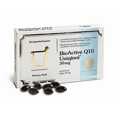 BIOACTIVE Q10 UNIQINOL 30MG