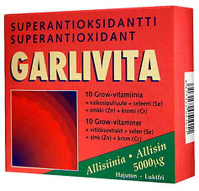 GARLIVITA SUPERANTIOKSIDANTTI