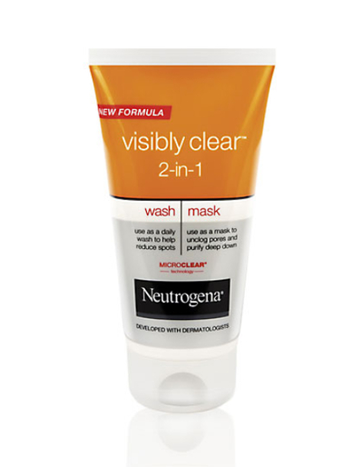NEUTROGENA VLCR 2IN1 WASH MASK